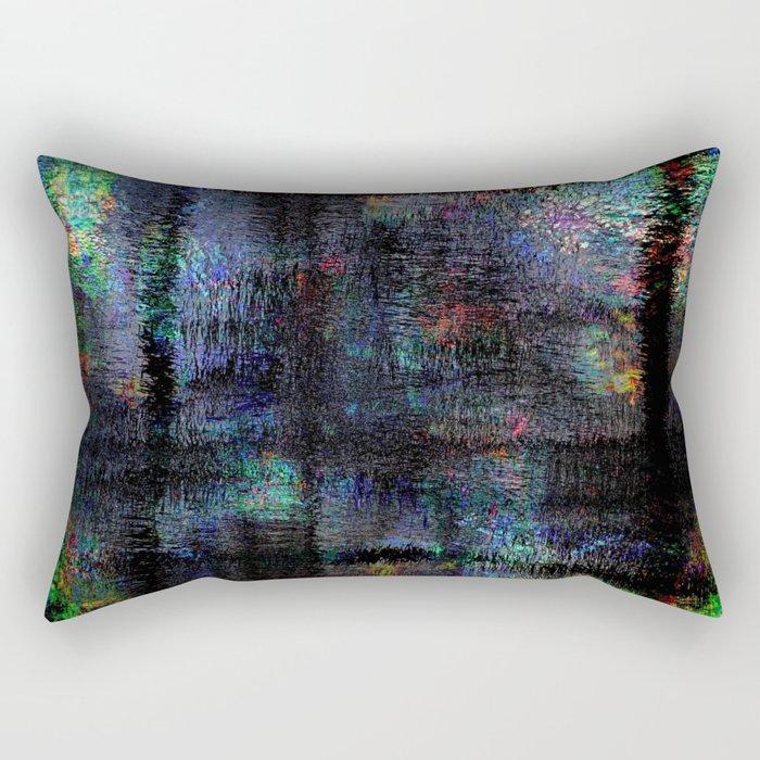 abstract #   #   # Rectangular Pillow