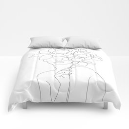 Lady Orchidea Comforters