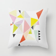 Multicolor Geometric Throw Pillow