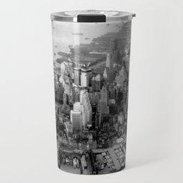 Historic Manhattan 1931 Travel Mug
