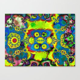 Bright, Multicolored Abstract Canvas Print