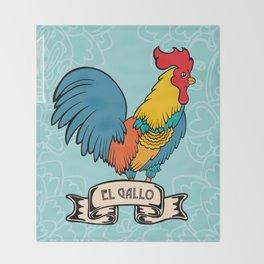 El Gallo Throw Blanket