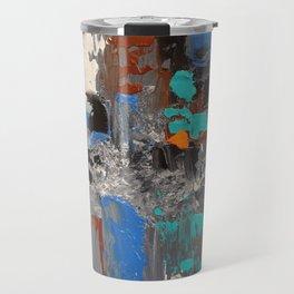 After Rush Hour - Abstract Painting Travel Mug