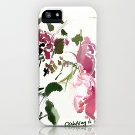 painting is my life iPhone Case