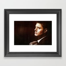 Dean Winchester II Framed Art Print