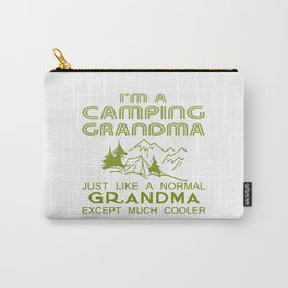 Camping Grandma Carry-All Pouch