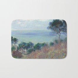 """Claude Monet """"La côte de Varengeville (The coast of Varengeville)"""" Bath Mat"""