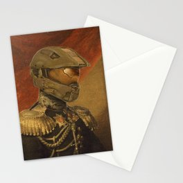 Halo Master Chief Spartan 117 Class Photo General Painting Fan Art Stationery Cards