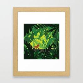 Lion King - Simba Pattern Framed Art Print