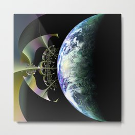 Exploration Metal Print