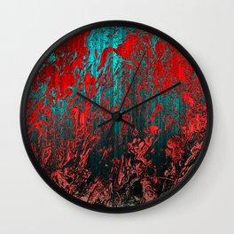 Earth Crime Pandemic Wall Clock