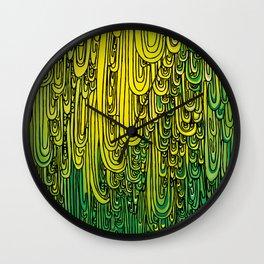 CASCADES Wall Clock