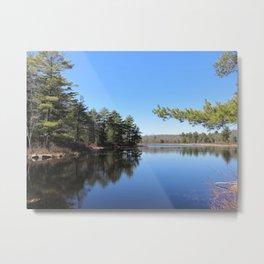 Billings Pond - Pocono Mountains Metal Print