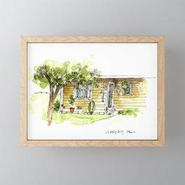 Across from the Coop Framed Mini Art Print