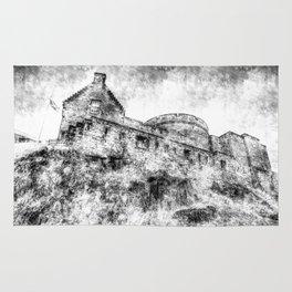 Edinburgh Castle Vintage Rug