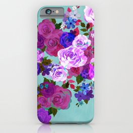 Roses Jumble iPhone Case