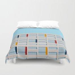 S04-1 - Facade Le Corbusier Duvet Cover