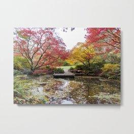 Japanese Garden Zen Metal Print