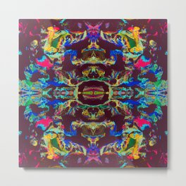 Internal Kaleidoscopic Daze- 17 Metal Print