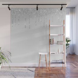 Icicles Wall Mural