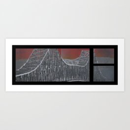 Steel and Streams Art Print