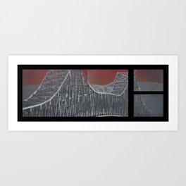 Steel and Streams Art Print