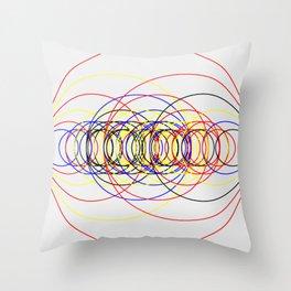 Circle Splendor 8.2 Throw Pillow