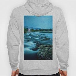 tranquil waterfall Hoody