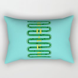 S N A K E Rectangular Pillow