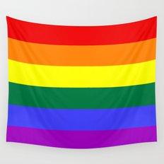 Gay Pride Flag Wall Tapestry