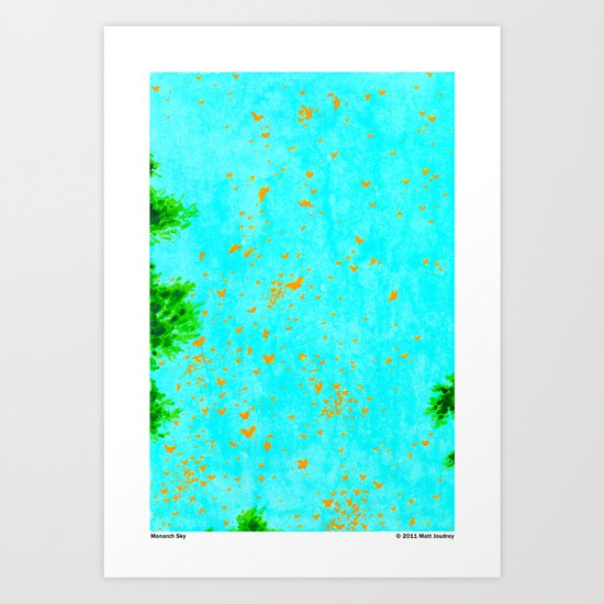 Monarch Sky Art Print