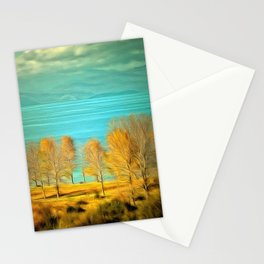 Ohrid Lake blue Stationery Cards