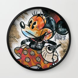 Minny-ot Wall Clock
