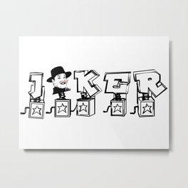 Little superheroes - Jack Metal Print