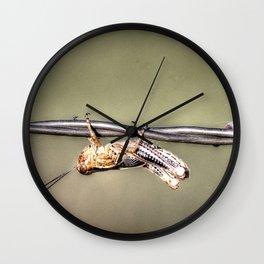 Hang on Baby Friday's Coming Wall Clock