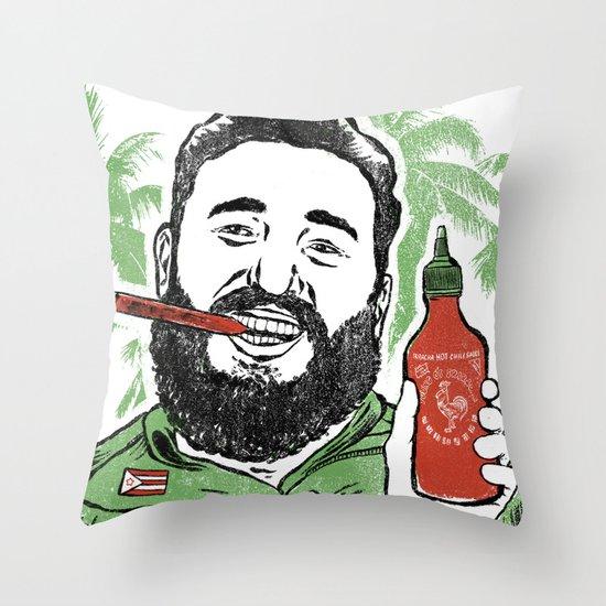 Castro Sauce Throw Pillow