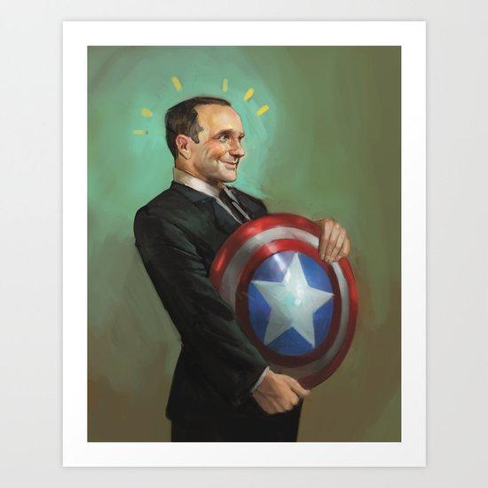 Agent Coulson Art Print