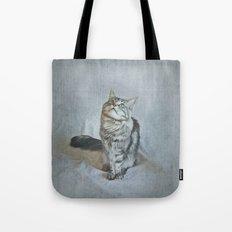 C A T Tote Bag