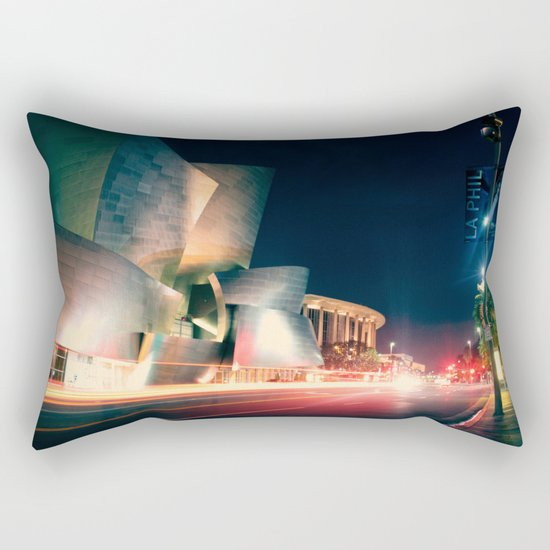 Walt Disney Concert Hall Rectangular Pillow