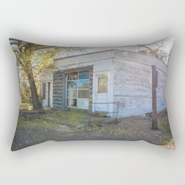 Old Grocery Store, Huff, North Dakota 1 Rectangular Pillow