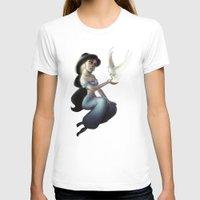 jasmine T-shirts featuring Jasmine by KATIE PAYNE