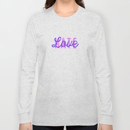 LOVE over HATE - Special Long Sleeve T-shirt