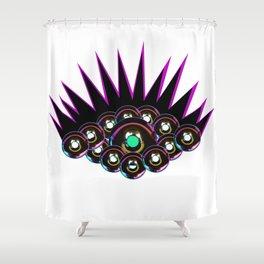 Donut Eyes Shower Curtain