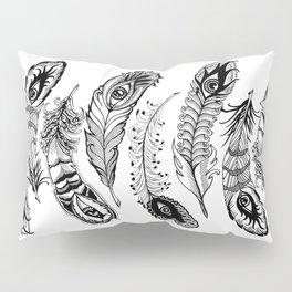 bizarre feathers Pillow Sham