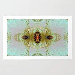 Antique Insect Jewel 4 Art Print