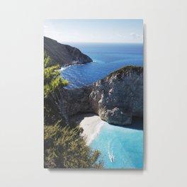 Zakynthos Island, Navagio Beach Metal Print