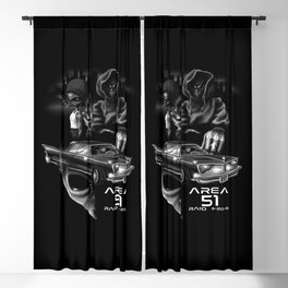 Area 51 Raid / Alien Lowrider Blackout Curtain