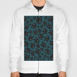 Totem love wolf pattern Hoody