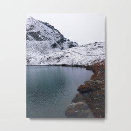 Hatcher's Pass Lake Metal Print