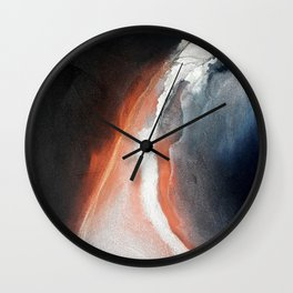 Electric Arches Wall Clock